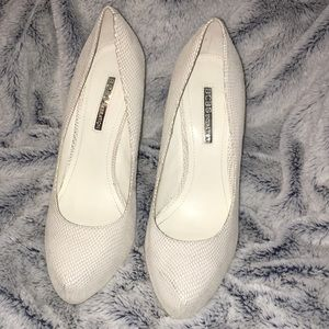 White BCBGeneration Pump Heels